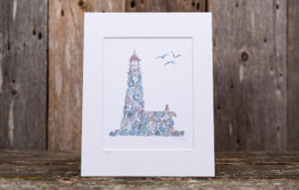 Love Rocks Me - 8x10 Print - Lighthouse