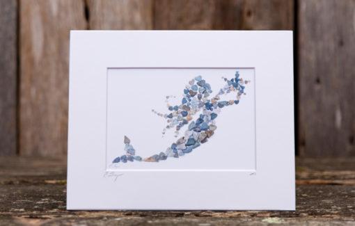 Love Rocks Me - 5x7 Print - Mermaid