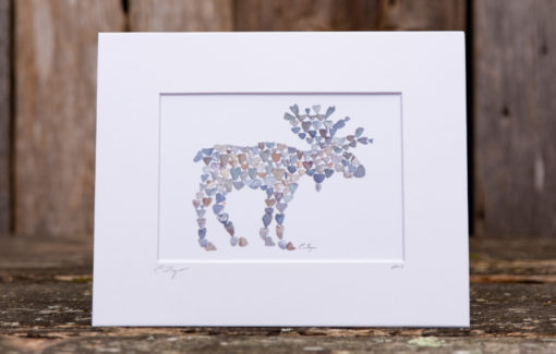 Love Rocks Me - 5x7 Print - Moose