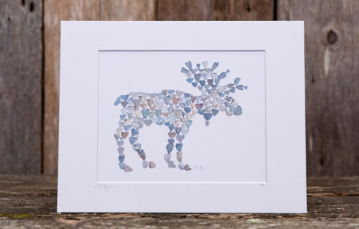 Love Rocks Me - 8x10 Print - Moose
