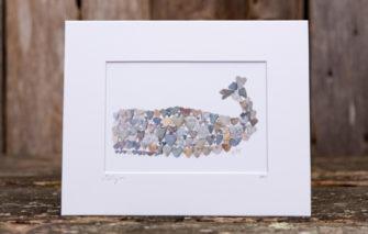 Love Rocks Me - 5x7 Print - Whale