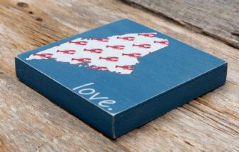Salt Air Designs - 6x6 Lobsters Maine Love