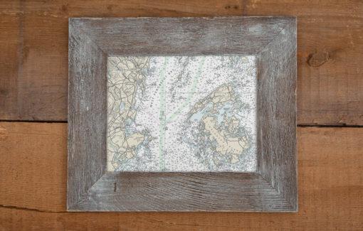 Salt Air Designs - 8x10 Nautical Chart - West Penobscot Bay