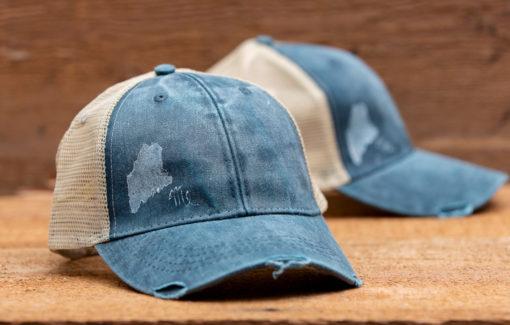 Amy Rose - Trucker Hat - Faded Ocean