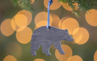 A & E Stoneworks - Slate Ornament - Bear