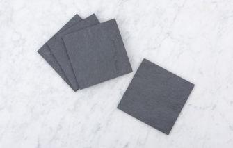A & E Stoneworks - Square Slate Coasters