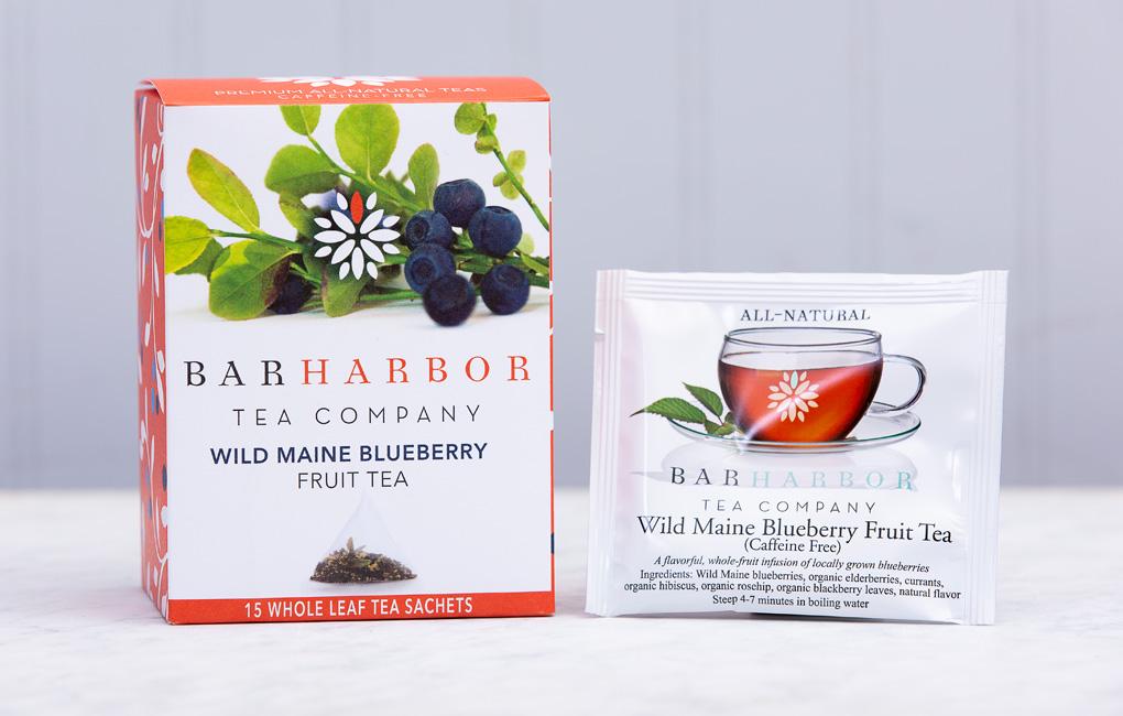 Wild Maine Blueberry Fruit Tea Bags