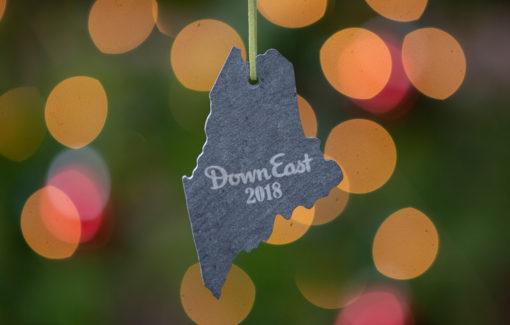 Down East - 2018 Christmas Ornament - Slate