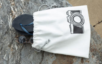 Maine Bags & Goods - Skinny Dipper - Vintage Camera