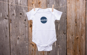 Stacey Kane Design - Onsie - Maine Circle - 18 Months