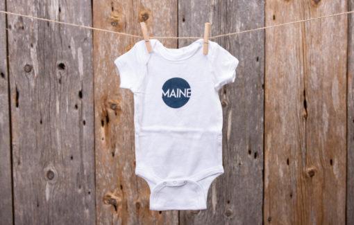 Stacey Kane Design - Onsie - Maine Circle - 6 Months