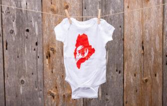 Stacey Kane Design - Onsie - Maine Lobster - 6 Months