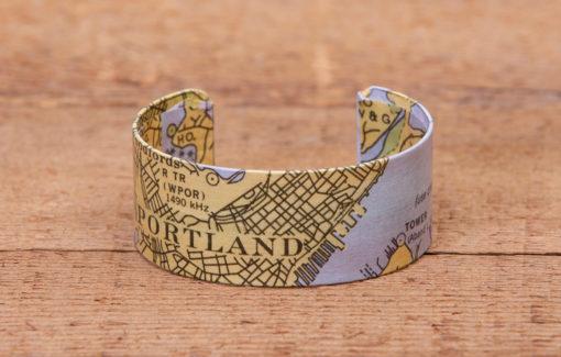 Whimsy - Bracelet - Chart Map - Portland