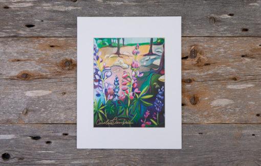Caroline Clare Davis - Lupine Print
