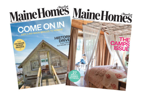 Maine Homes by Down East Subscription