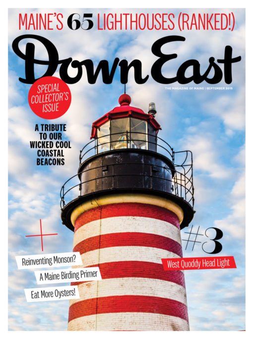 Down East Magazine - September 2019 Cover