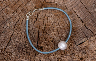 LESL Ware - Bracelet - Single Pearl - Wave