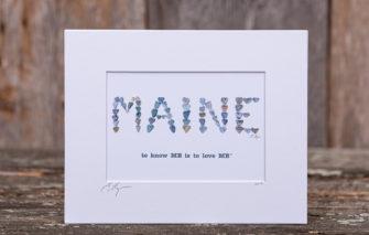 Love Rocks Me - Print - Maine to know ME is to love ME