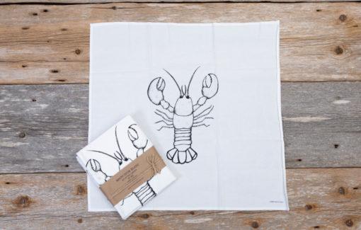 North Circle Studio - Napkin Set - Lobster