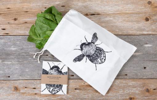 North Circle Studio - Produce Bag - Bee