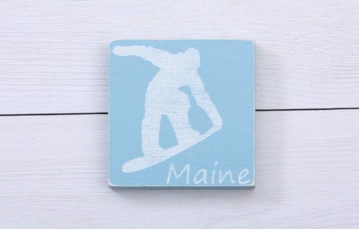 Salt Air Designs - 4x4 Decor - Snowboarder - Surf