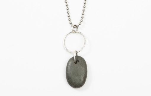 Circle Stone Designs - Necklace - Beach Stone