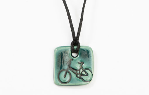 Jess Teesdale Pottery - Necklace - Bicycle Charm