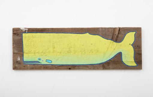 Mermaid Meadow - Painting - Deep Sea Lime Moby