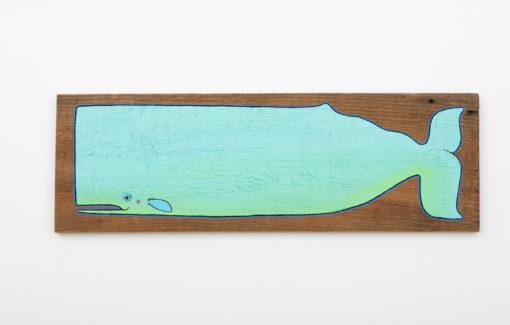Mermaid Meadow - Painting - Deep Sea Tidal Teal Moby