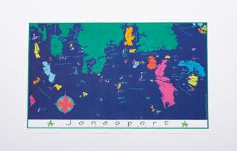 Festive Fish - Chart Poster - Jonesport