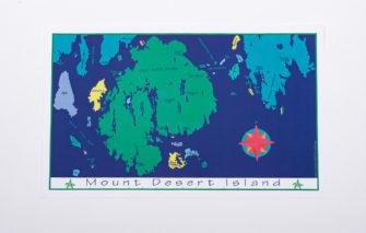 Festive Fish - Chart Poster - Mount Desert Island