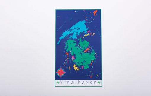 Festive Fish - Chart Poster - Vinalhaven