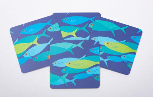 Festive Fish - Coasters - Wee Fish