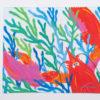 Festive Fish - Microfiber Cloth - Rainbow Lobster