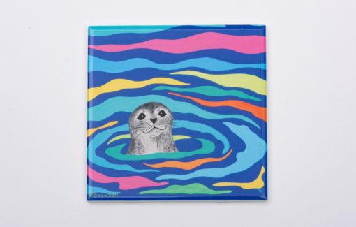 Festive Fish - Trivet - Harbor Seal