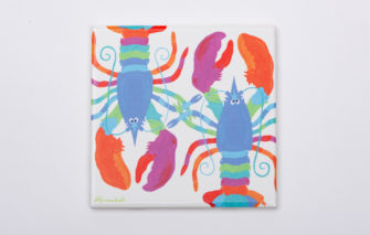 Festive Fish - Trivet - Lifesaver Lobster
