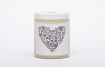 Love Rocks Me - Candle - Heart of Hearts