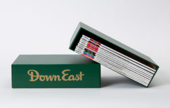 Down East Magazine Slip Case