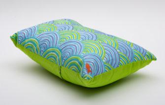 Festive Fish -Artful Pillow - Heaps of Waves