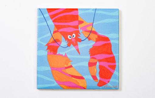 Festive Fish - Trivet - Seaweed Lobster