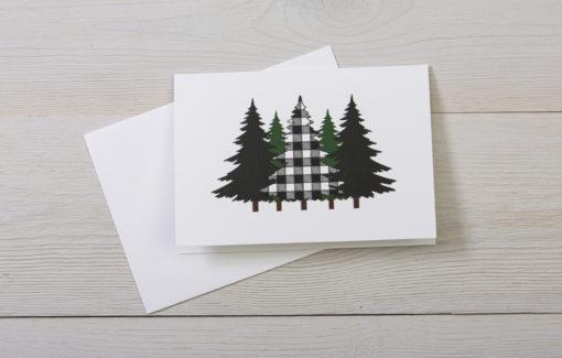 Stacey Kane Design - Greeting Card - Pine Trees