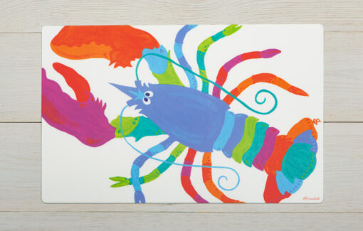 Festive Fish - Placemat - Lifesavor Lobster
