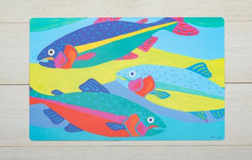 Festive Fish - Placemat - Three Fish