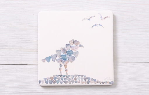 Love Rocks Me - Coaster - Shore Birds