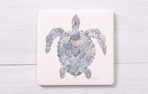 Love Rocks Me - Coaster - Turtle