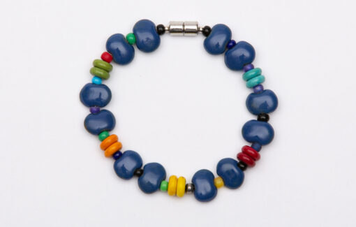 Whimsy - Kazuri Bead Bracelet