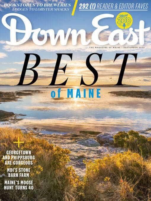 Down East Magazine September 2020