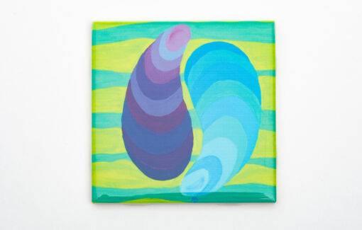 Festive Fish - Coaster - Ying Yang Mussles