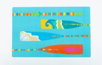 Festive Fish - Placemat - Oars