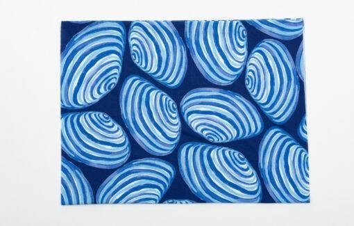 Festive Fish - Salt Bands - Clams on Blue
